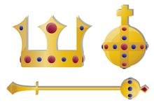 Kings Jewels Royalty Free Stock Image