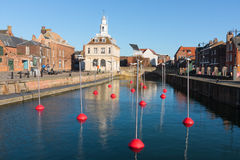 Kings Lunn's quayside with customs house. Stock Photo