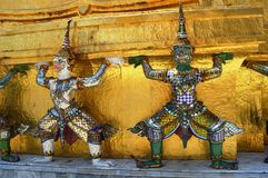 Kings Palace. Bangkok. Most visited place in Bangkok Stock Images