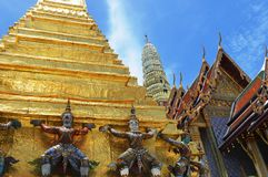 Kings Palace. Bangkok. Most visited place in Bangkok Stock Photo