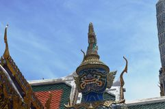 Kings Palace. Bangkok. Most visited place in Bangkok Royalty Free Stock Photos
