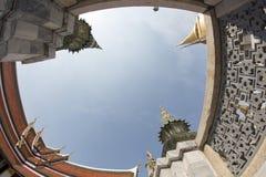 Kings palace Bangkok. Kings palace in winter 2014, fish eye Stock Images