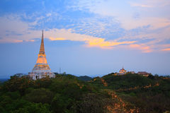 kings palace Phra Nakhon Khiri in Phetchaburi Stock Photography