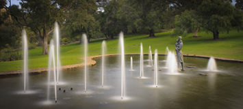 Kings Park Water Garden Royalty Free Stock Photography