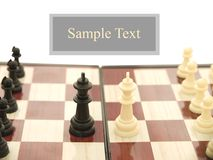 Kings and pawns Royalty Free Stock Photo