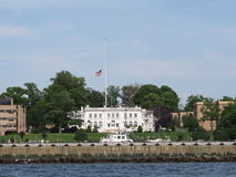 Kings Point Merchant Marine Academy. Located on the Long Island Sound the Kings Point Merchant Marine Academy is one of the five federal service academies along Royalty Free Stock Photography