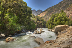 Kings River. Scenic Kings River, King's Canyon National Park, California, USA Royalty Free Stock Image