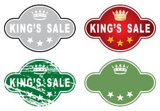 Kings sale Stock Images