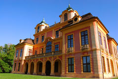 Kings summer residence. Ludwigsburg, Baden-Wurttemberg, southern Germany Royalty Free Stock Images