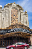 Kings Theatre in Brooklyn, New York City. Kings Theatre in New York City. This movie palace was opened in 1929, closed in 1977 and reopened to the public on royalty free stock photos