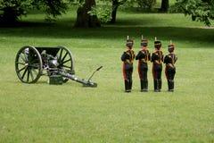 Kings Troop. Royal horse artillery London England Royalty Free Stock Images