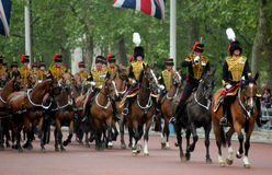 The Kings Troop Royal Horse Artillery Stock Photography