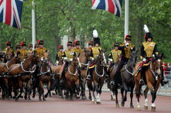 The Kings Troop Royal Horse Artillery Stock Image