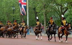 The Kings Troop Royal Horse Artillery Royalty Free Stock Image