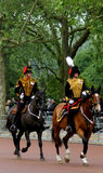 Kings Troop Royal Horse Artillery Royalty Free Stock Images