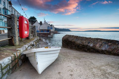 Kingsand in Cornwall Royalty Free Stock Photography