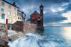 Kingsand i Cornwall Fotografering för Bildbyråer