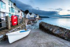 Kingsand i Cornwall Royaltyfri Bild