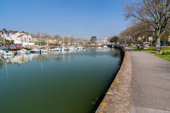 Kingsbridge Devon England stockbild