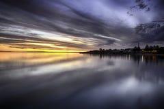 Kingscote του νησιού καγκουρό Στοκ Εικόνα