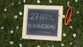 Kingsday stock fotografie