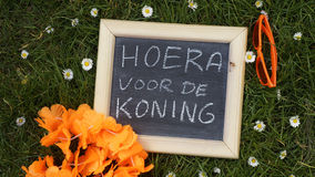 Kingsday Royalty Free Stock Images