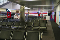 Kingsford Smith Airport, T2, salida nacional del terminal de aeropuerto Foto de archivo