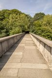 Kingsgatevoetgangersbrug - Durham, het Verenigd Koninkrijk royalty-vrije stock afbeeldingen