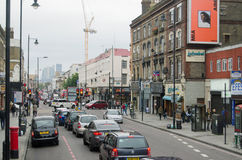 Kingsland大街,伦敦 免版税图库摄影