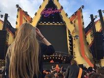 Kingsland festival i Amsterdam Fotografering för Bildbyråer