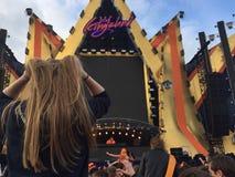 Kingsland festival i Amsterdam arkivbild