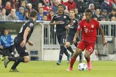 Kingsley Coman    Bayern Munich Stock Photos