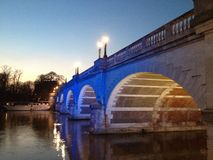 Kingston Bridge View Images libres de droits