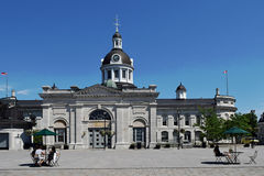 Kingston City Hall Kingston, Ontario, Kanada Royaltyfria Foton