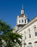 Kingston City Hall Oblique View Fotografia Stock