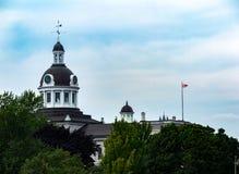 Kingston City Hall, Ontario immagine stock