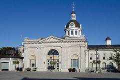 Kingston City Hall, vista posteriore fotografie stock libere da diritti