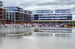 Kingston Foreshore-bouw Stock Afbeelding