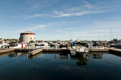 Kingston Harbor - Canada Images stock