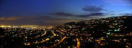 Kingston la nuit photo stock