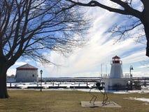 Kingston Lighthouse Fotografie Stock