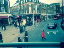 Kingston nach Themse Lizenzfreies Stockfoto