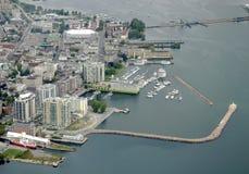Kingston Ontario antenn arkivfoto
