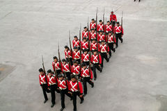 Kingston Ontario Canada Fort Henry Guard Stock Image
