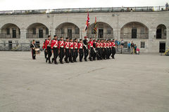Kingston Ontario Canada Fort Henry Guard Royalty Free Stock Photography