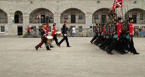Kingston Ontario Canada Fort Henry Guard Royalty Free Stock Photos