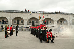 Kingston Ontario Canada Fort Henry Guard stock photography