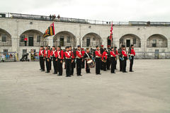 Kingston Ontario Canada Fort Henry Guard Stock Images