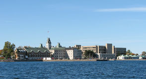 Kingston Ontario hamn Royaltyfri Fotografi