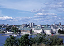 Kingston Ontario Skyline Royalty Free Stock Photos
